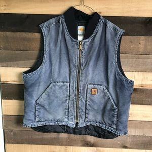 Carhartt Mens Workwear Gray Vest Men's size XXL